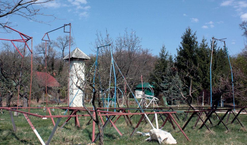 Socialist era gymnastics training facility, Hungary, Tom Sloan (2013)