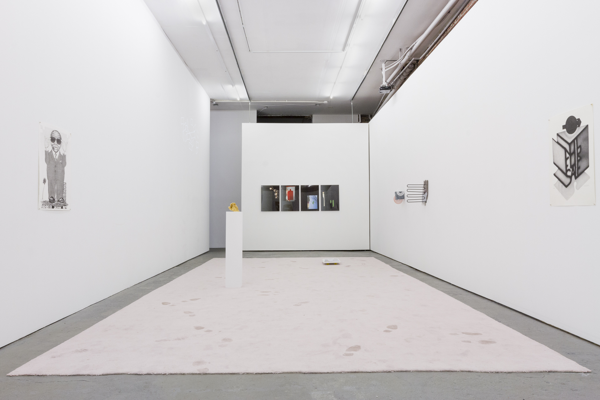Installation view of The Corruption of Time's Dust curated by 2013-14 Curatorial Resident Julian Hou. Photo by Dennis Ha.