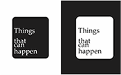 Things that can happen