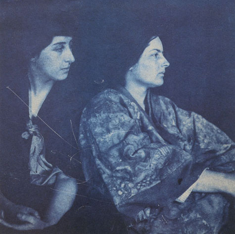Frances Loring and Florence Wyle, 1914. Photo by Robert Flaherty Courtesy the Art Gallery of Ontario
