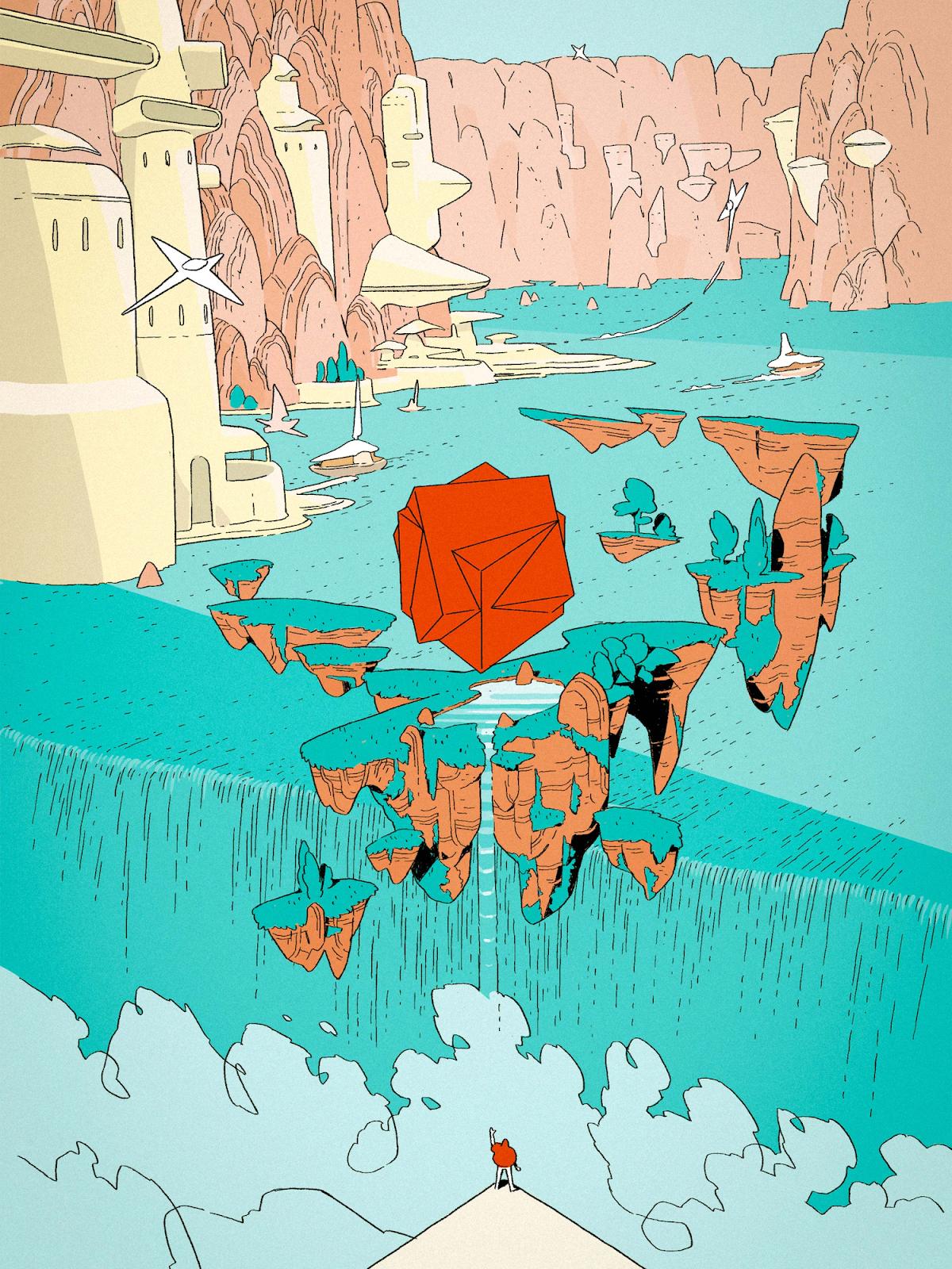 Illustration by Matias Basla, Liam Cobb, Jaedoo Lee, Ilya Milstein for Collins